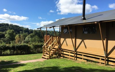 Glamping – the best of both worlds