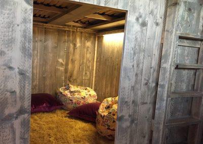 Children's Den Under the Cabin Bed