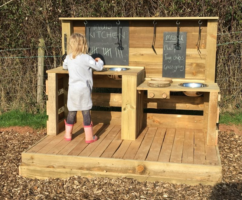 Our Mud Kitchen at Valleyside Escapes - Glamping in Devon