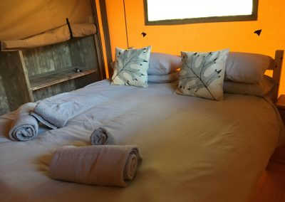 Maple Safari Glamping Tent - King Bedroom