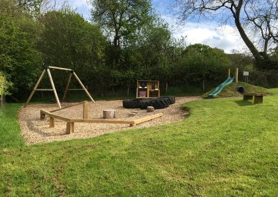 The Playground at Valleyside Escapes - Glampsite in Devon
