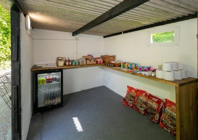Honesty shop at Valleyside Escapes