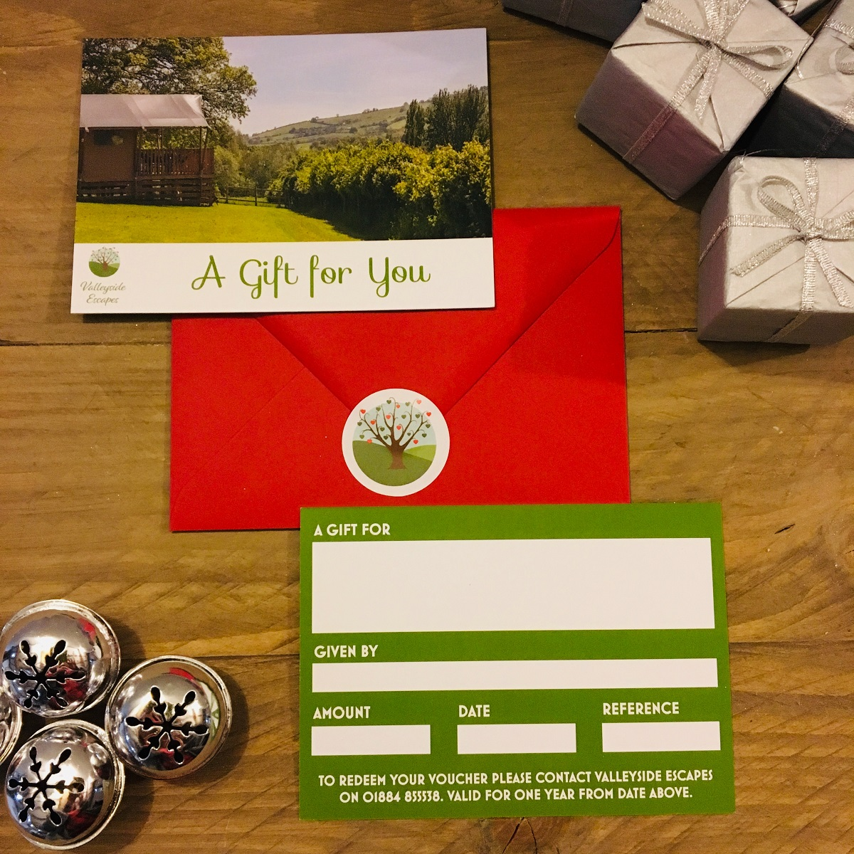 Valleyside Escapes Glamping Gift Card