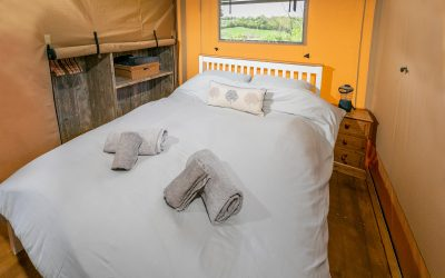 Glamping in comfort – Celebrating National Bed Month!