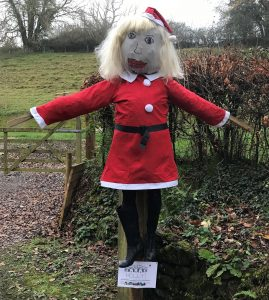 Holly_Scarecrow in the hedgerow