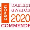 Devon Tourism 2020 Commended award