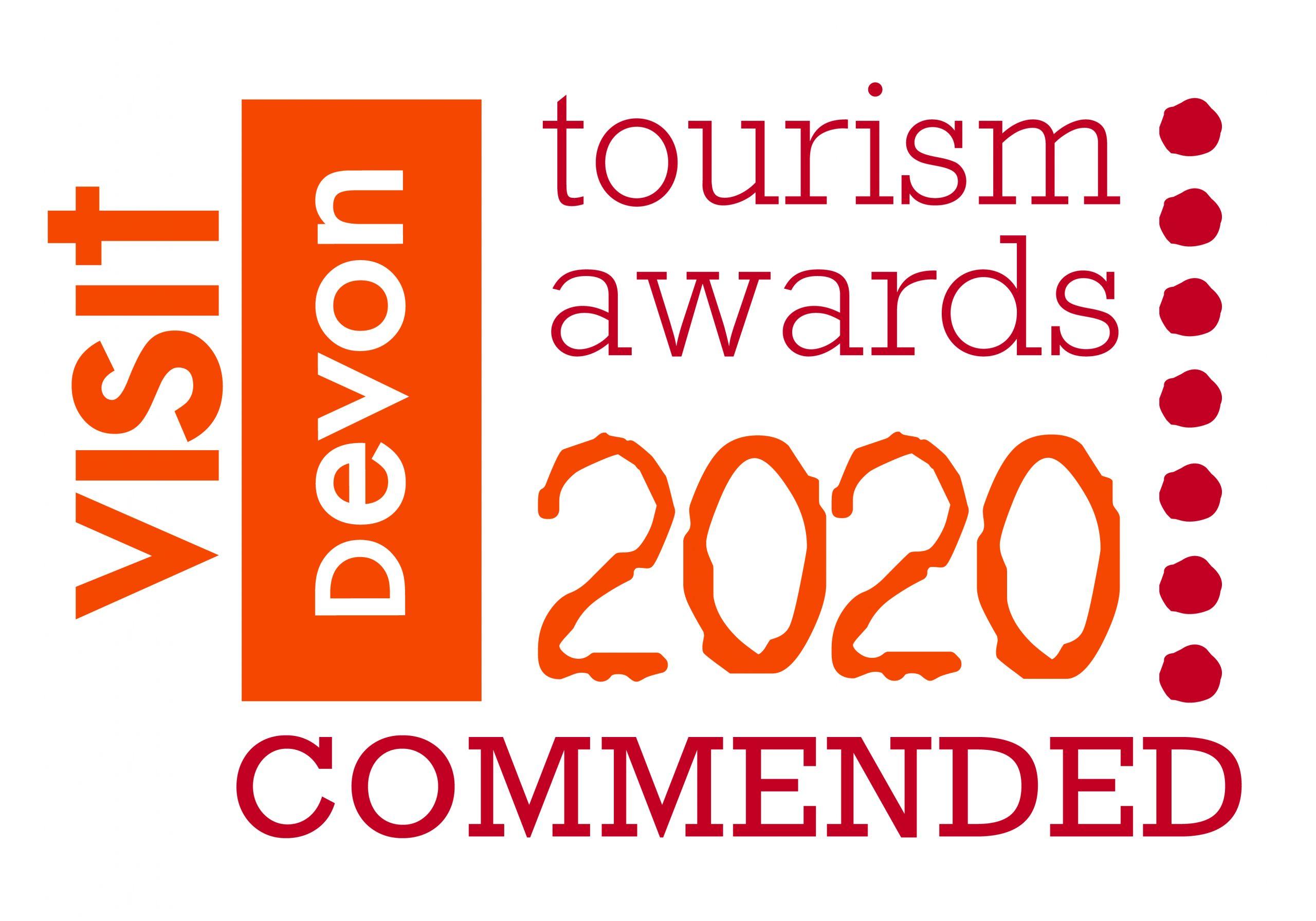 Devon Tourism 2020 Commended award