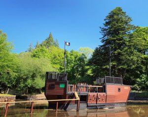River Dart pirate ship
