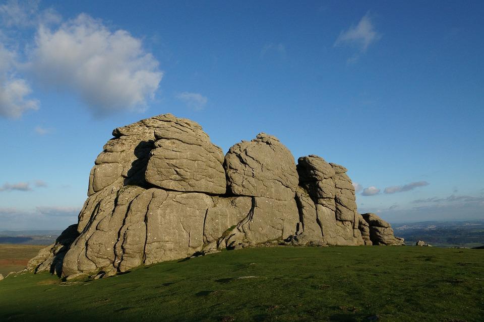 Dartmoor Haytor rocks