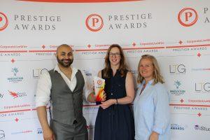 Prestige award winner