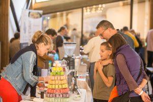 Crowd at Valleyside Barn Food & Drinks Fair